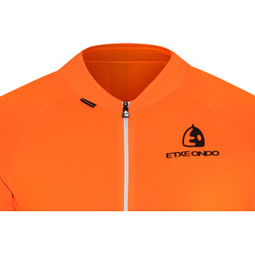Etxeondo Entzun Maillot manches courtes Homme, orange